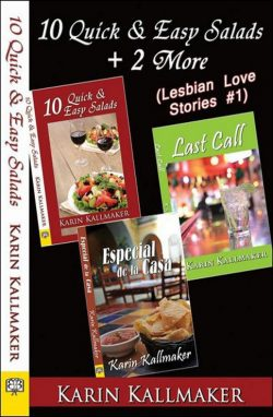 cover 10 quick easy salads plus two more stories