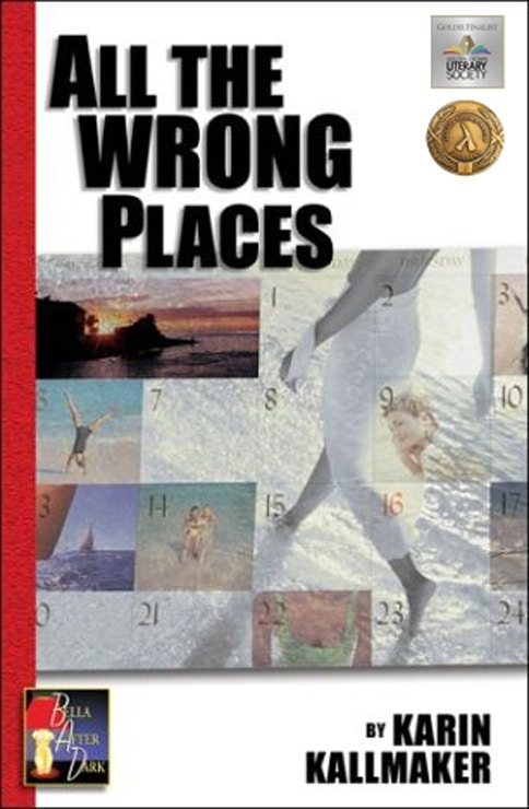 book cover all the wrong places erotica romance