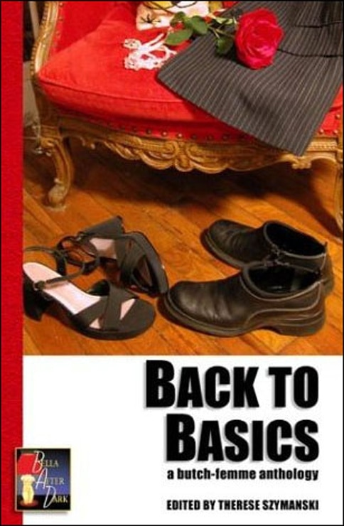 book cover back to basics butch femme erotica