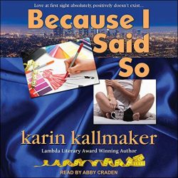 Because I Said So audio version cover