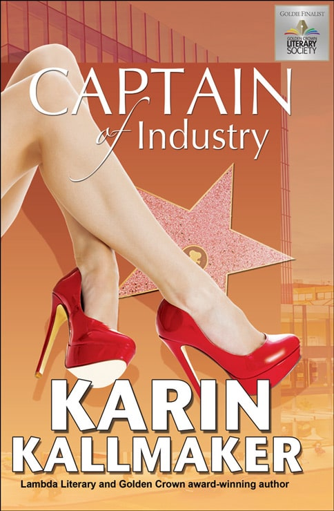 book cover captain of industry lesbian romance