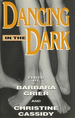 book cover dancing in the dark naiad press