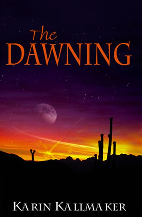 book cover dawning science fiction