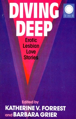 Cover Diving Deep Silver Moon edition lesbian fiction
