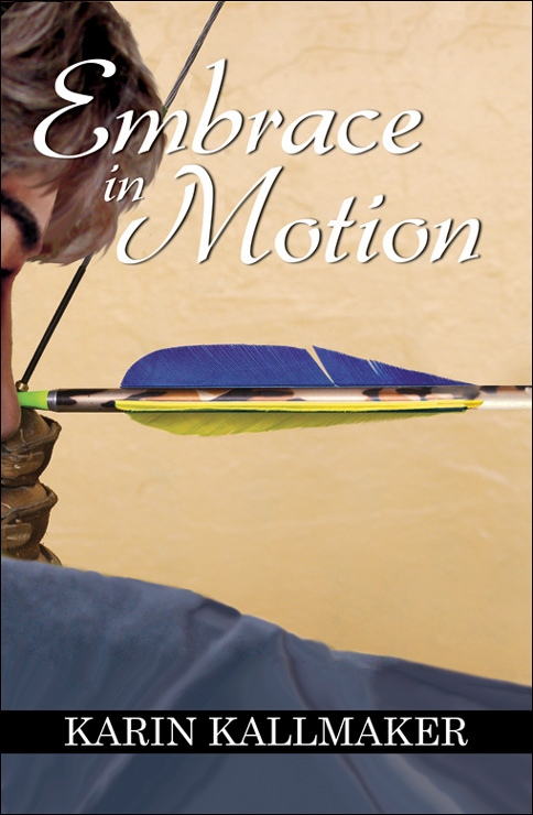book cover embrace in motion lesbian archer