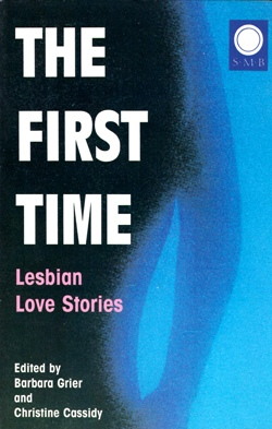 Cover First Time Silver Moon edition lesbian fiction