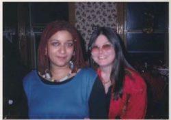 Jewelle Gomez with Dorothy Allison