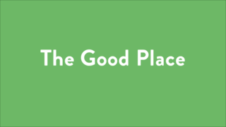 Logo for The Good Place
