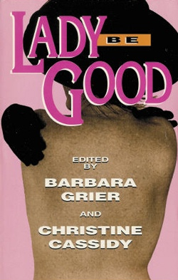 book cover lady be good naiad press