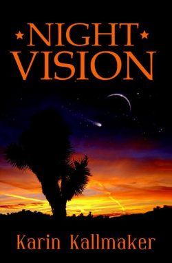 book cover night vision science fiction joshua tree