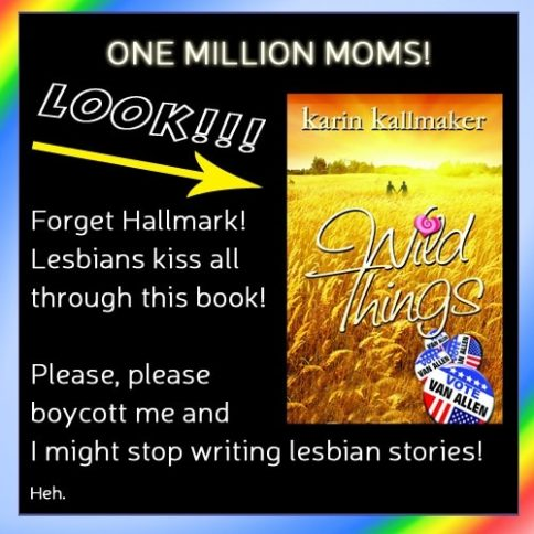 lesbian kissing boycott me
