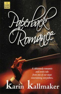 book cover paperback romance conductor baton