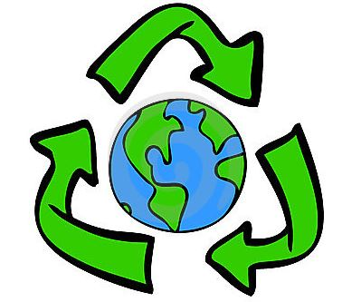 recycle to help the earth