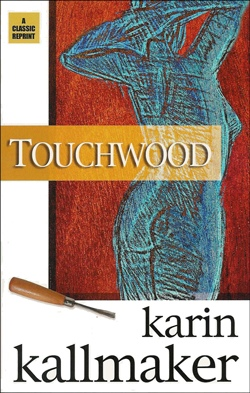 book cover touchwood woman romance chisel