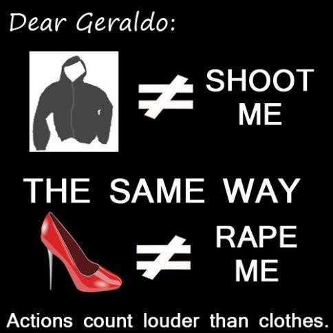 Meme, Geraldo Rivera hoddie comment