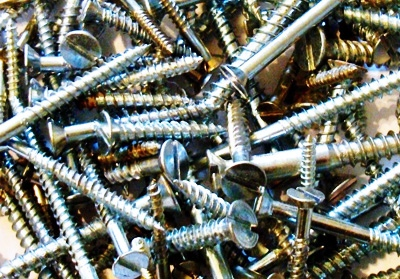 mixed all purpose screws